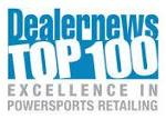 Dealer News Top 100 Excellence in Powersports Retailing Award
